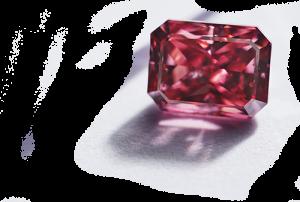 Naturalny diament o masie 1.12ct i bardzo wysokim wysyceniu barwy Fancy Vivid Pink. Takie diamenty pojawiają się na rynku nie częściej niż raz na kilka lat...