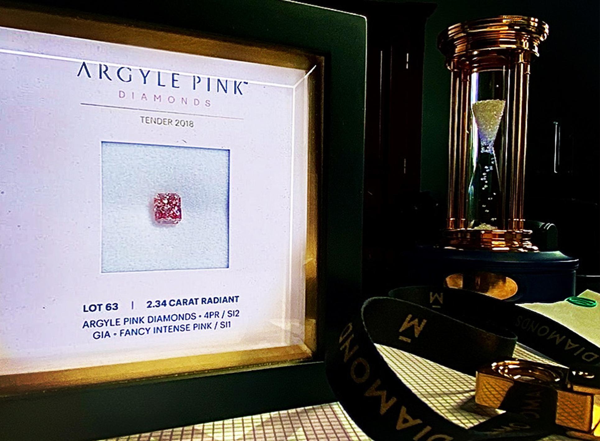 Różowy diament z Argyle