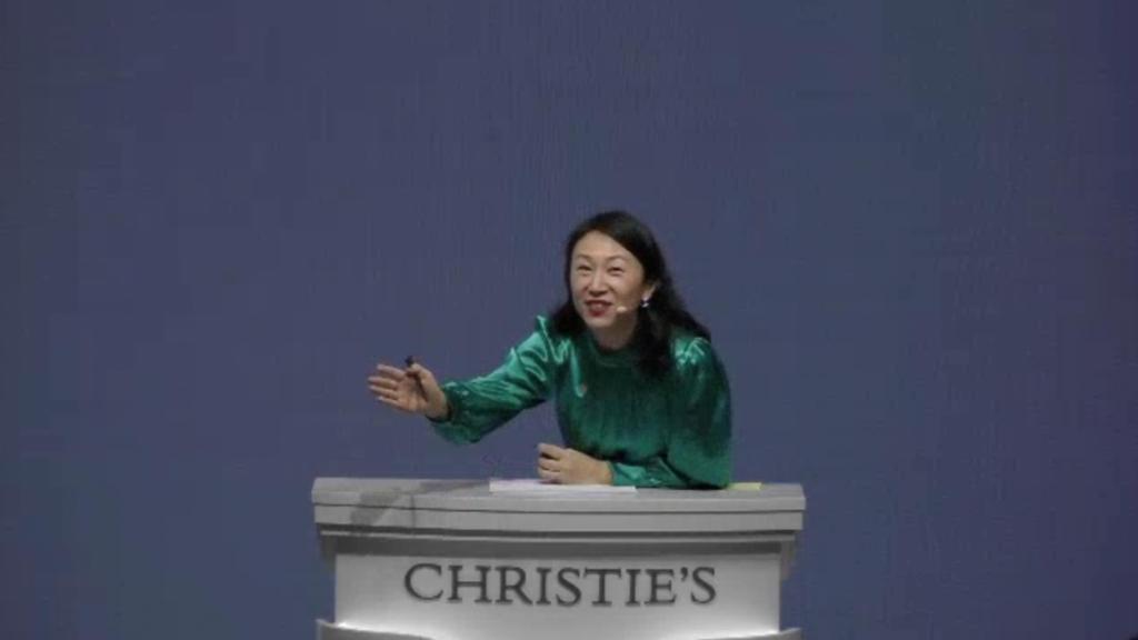 Aukcja Christie's w Hong Kongu