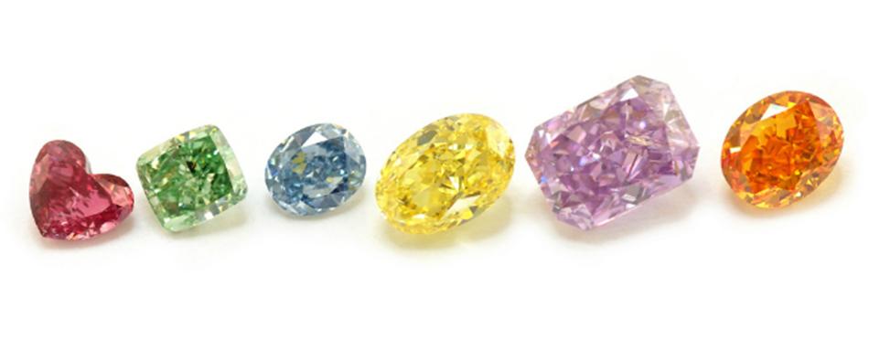 Kolorowe diamenty - najrzadsze z klejnotów ...