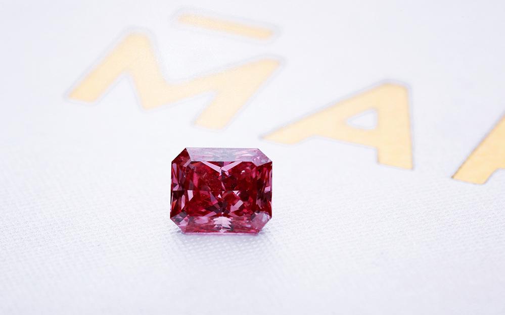 Różowy diament Argyle - 071ct - Fancy Vivid Pink / I1 kolekcja ARGYLE TENDER 2018