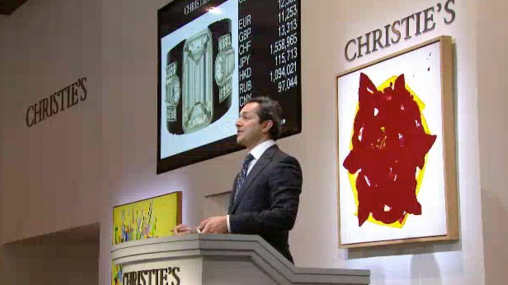 Christie's Rahul Kadakia  Szef departamentu biżuterii domu aukcyjnego Christie's