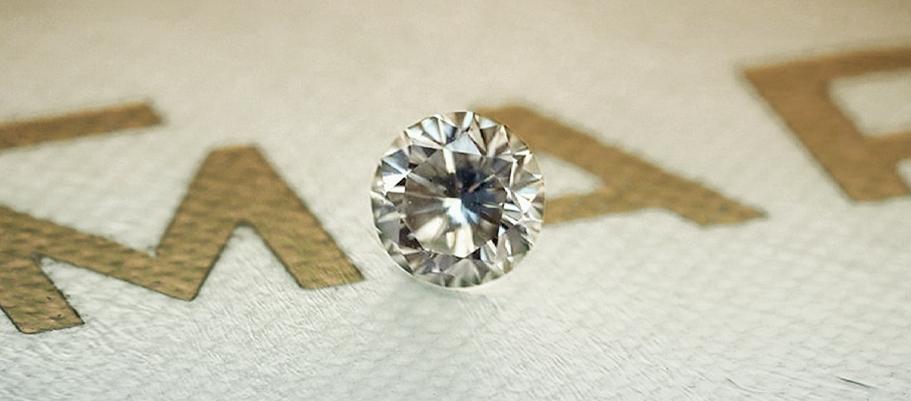 Diament naturalny - BRYLANT - Fancy Gray / SI2  (via Mart Diamonds)
