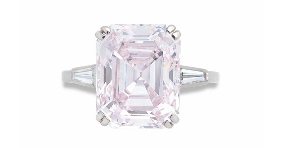 Aukcja Christie's - póz. 97 - Diament 8.06ct Fancy Purplish-Pink