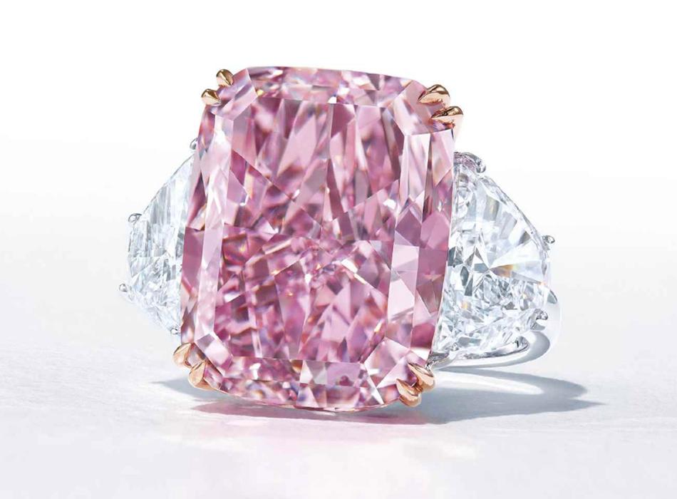 Aukcja Christie's 15.81ct Fancy Vivid Purple - Pink / IF
