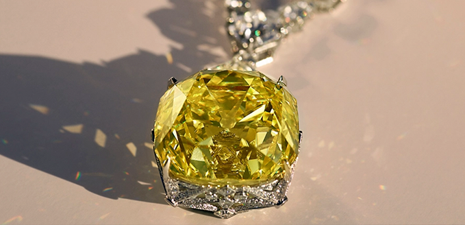 Yellow Tiffany - najsławniejszy żółty diament